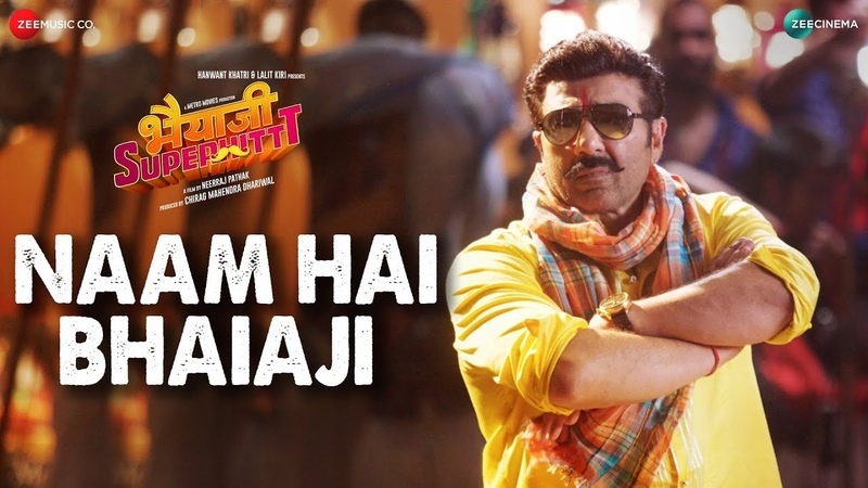Клип Naam Hai Bhaiaji к фильму Bhaiaji Superhit - Санни Деол