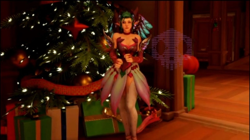 Sugar Fairy Mercys Dance (kinda) Goes With Every Christmas Song ft. Sombra
