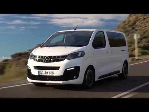 2020 Opel Zafira Life iç dış tasarım ve sürüş tanıtımı