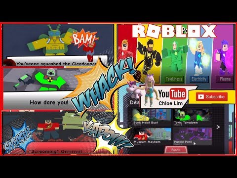Roblox Heroes of Robloxia! EVENT - Mission 1 to 4 (warning LOUD SCREAMS)! Stay Tune for Part 2 !