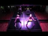 Wiggle - Eva Valdes w B Girl Sassy Zumba @ The Z Spot Las Vegas