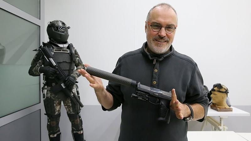 Новейший российский пистолет Удав впервые показали в деле