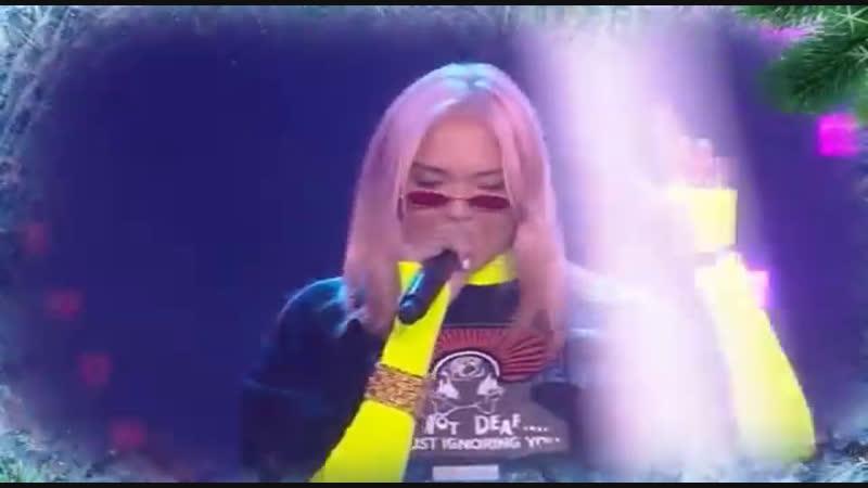 Настя Кудри - Devochka-Nirvana (Танцы! Елка! МУЗ-ТВ!)