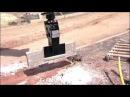 Бордюроукладчик на экскаватор-погрузчик JCB 4CX