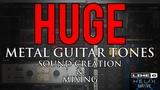 HUGE metal guitar tones! Sound creation &amp mixing (Line 6 Helix &amp OwnHammer HHC1 &amp 2)