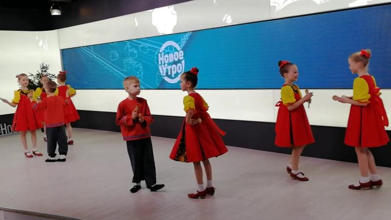Студия детского народного танца Раздолье под руководством Смолина Е. А.