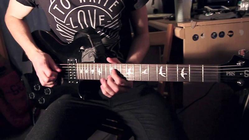 Ghosts In The Machine - Anavae (Guitar Demonstration) | Jamie Finch.
