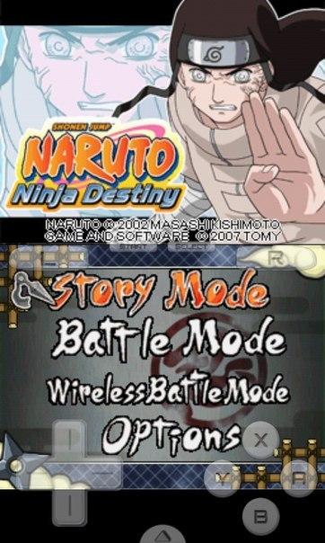 Naruto Shippuden Ninja Destiny 2 Ds Rom