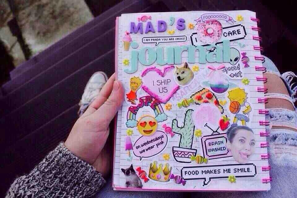 Фото самых лучшие личные дневники