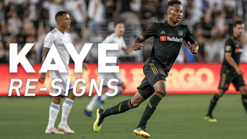 LAFC Re-Signs Mark-Anthony Kaye