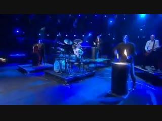Blue Man Group - Drumbone (Melodifestivalen 2010 Sweden)