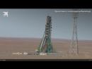 Экипаж Союза приземлился в Казахстане после аварии