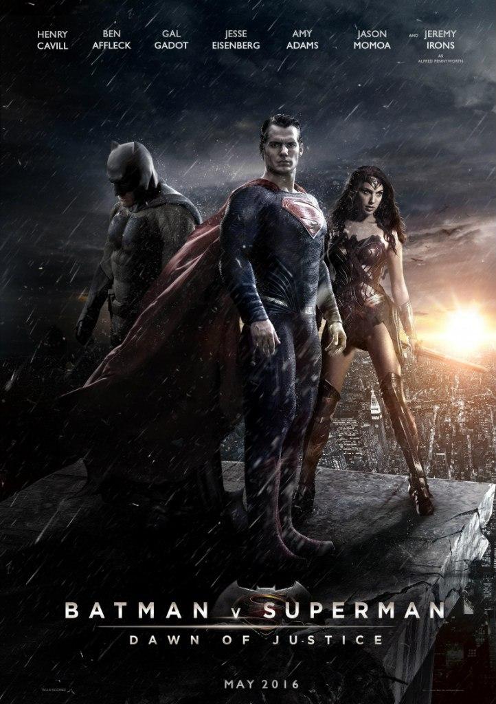 Постер к фильму Бэтмен против Супермена: На заре справедливости
