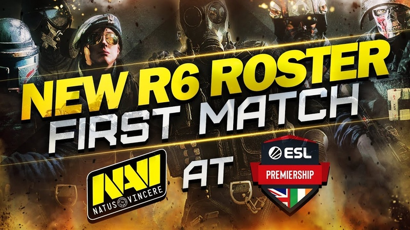 NEW Rainbow Six Siege ROSTER NAVI vs Who knows at ESL Premiership Summer 2019