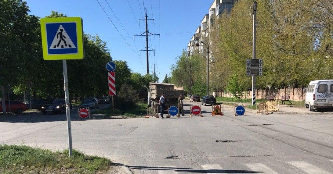 В Таганроге почти на месяц перекроют улицу Толбухина