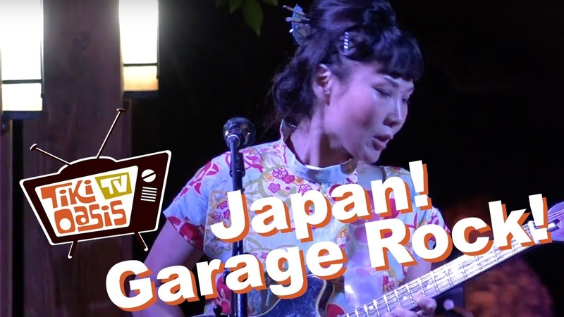 Tiki Oasis 2017 - 5.6.7.8s All Girl Japanese Garage Rock! surf punk rockabilly garage
