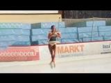 Alina Zagitova Short practice Nebelhorn Trophy 2018 9 27