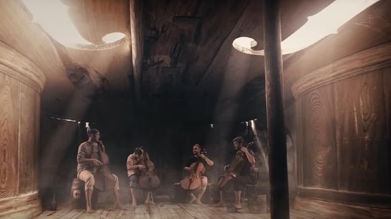 Pirates of the Carribean Prague Cello Quartet Official video