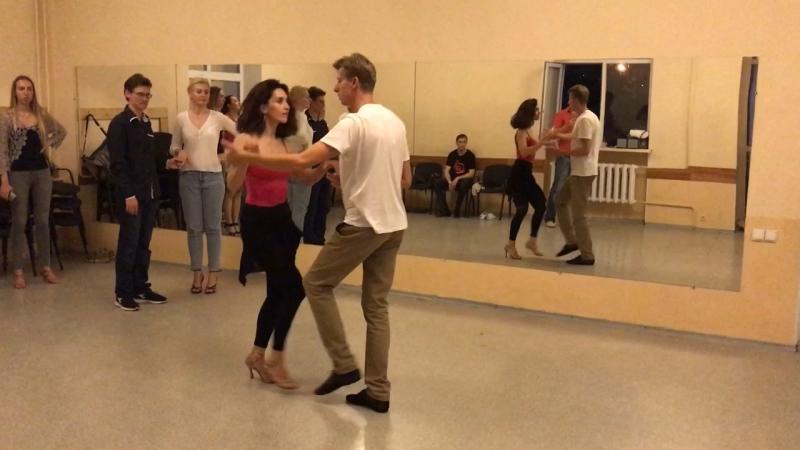 🎥 Резюме урока по танцу сальса начальной группы- 23.05.18
