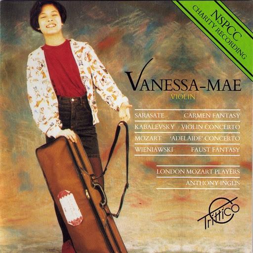 Ванесса Мэй альбом Mozart-Sarasate-Kabalevsky-Wieniawski: Selected Works for Violin
