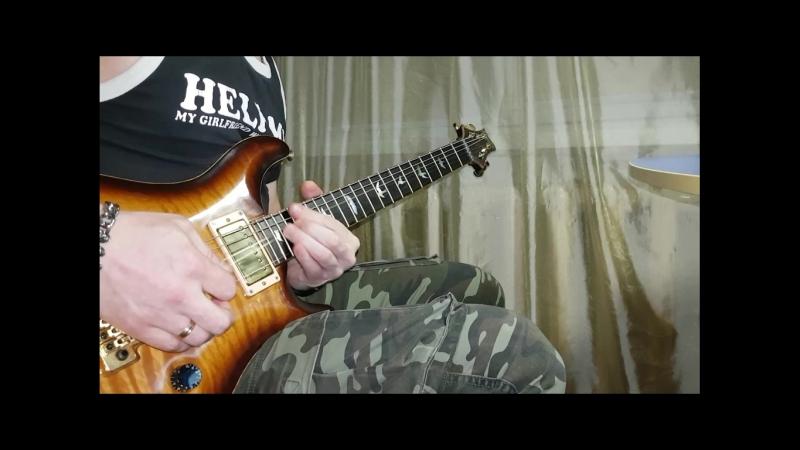 Metallica Unforgiven guit solo cover