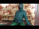 Edda Green Catsuit &amp jacket