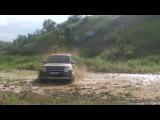 паджеро 4 дрифт в грязи