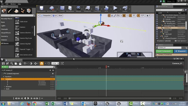UE4 How To Make A Cinematic