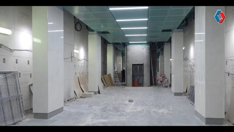 Строительство станции «Беломорская» вышло на финишную прямую