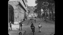 1913 - Street Scenes in San Sebastián, Spain (speed corrected w/ added sound)