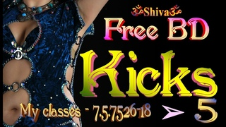Hanum-DABKE | FreeBD-My classes | 5 - kicks | by Shiva | 7.5.7526