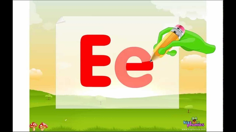 Letter Ee song, Learn Short e sound