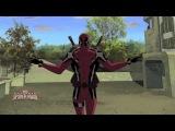 Ultimate Spider Man — Dancing Deadpool / Совершенный Человек-Паук — Танцы Дэдпула [HD]