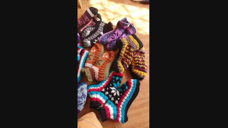 непальские носочки
