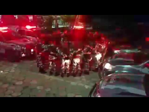 Спецназ Бразилии поет ГОСПОДУ