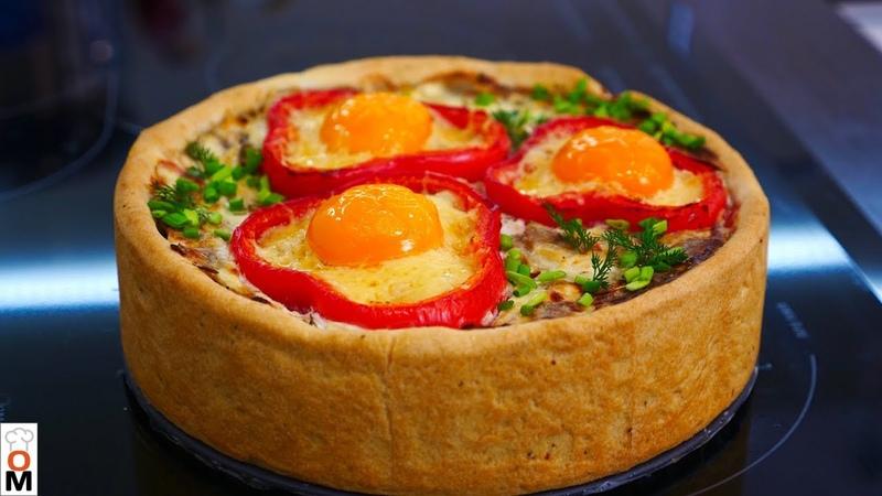 Закусочный Мясной Пирог   Очень Красиво и Просто   Ольга Матвей