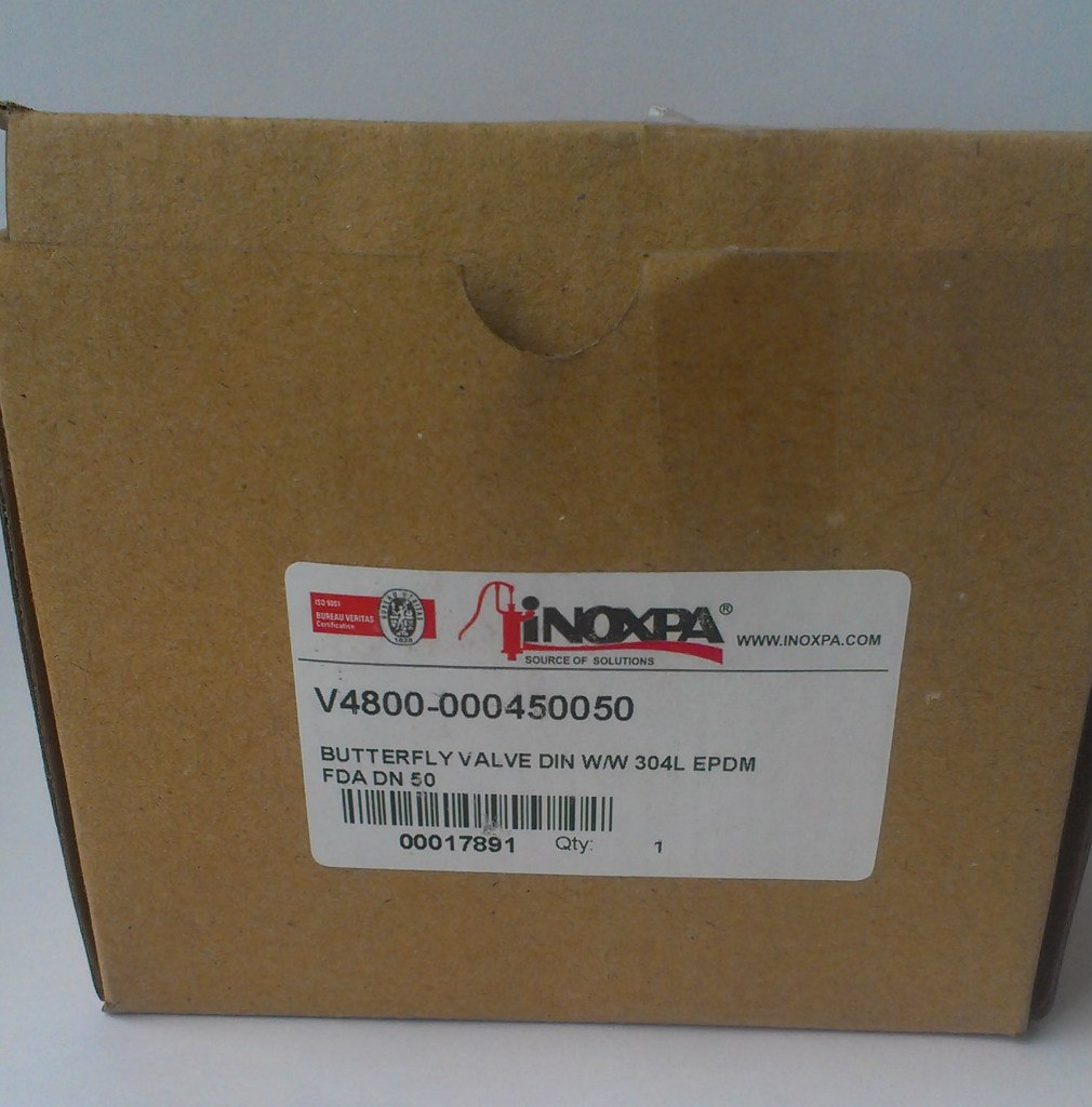 коробка заслонки Inoxpa