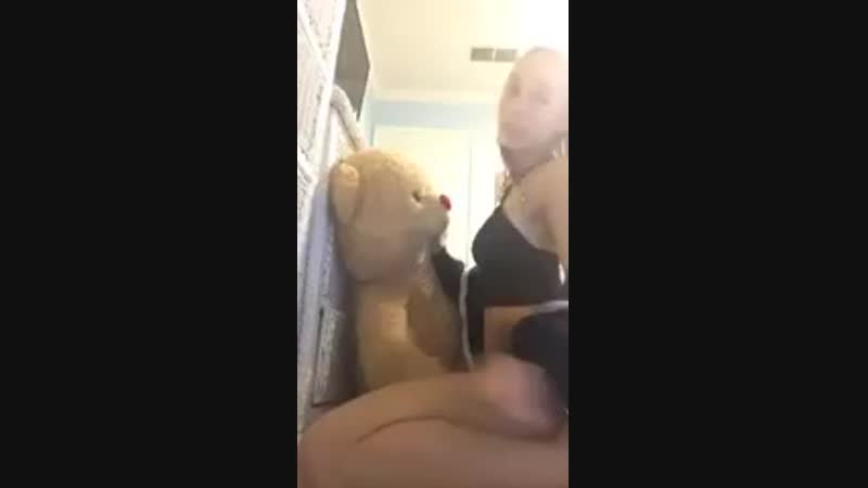 Homemade deepthroat sloppy blowjob from a cute blon SeXy SluT