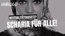 Opfermentalität Scharia Muslimin erhält knappe 6k Euro wegen Diskriminierung