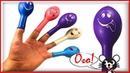 Семья пальчиков на русском и шарики Учим цвета Песенка про пальчики Finger Family Rhymes