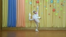 2018 г.- Кошачий твист - солистка Образцового коллектива эстрадного танца Визави Валерия Голубева .
