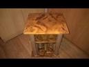 прикроватный столик из картона готов