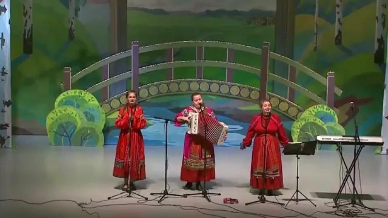 Запели песни заиграли Трио Цветень