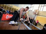 Indoor street workout competitions in Riga, Latvia. Organized by LIVSB