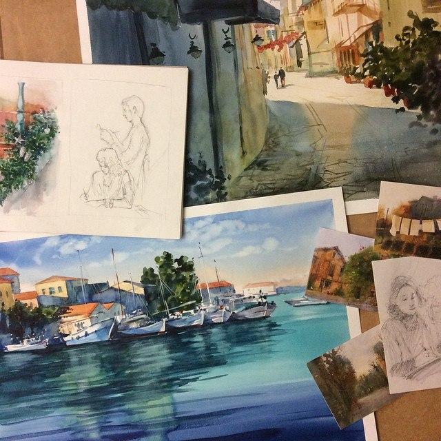 Мои работы с МК С. Курбатова