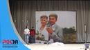 Светодиодный экран на сцене ДК. 54 метра. Баймак. РОСЭЛ