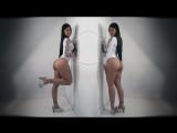 Busty brunette Daniela Rios Big Tits model boobs голая грудастая сочная девушка 1080