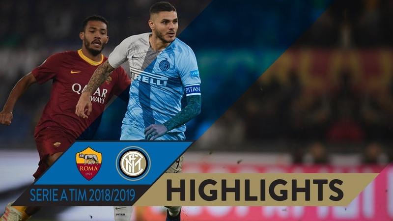 02.12.2018 Roma 2-2 Inter, Serie A, giornata 14