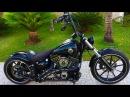 Custom Harley Davidson Breakout Ape Hanger (Rennel from Brazil)