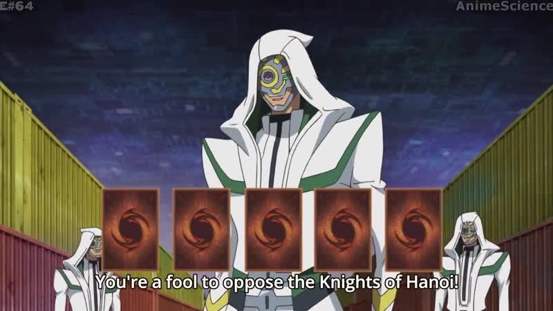 Yu Gi Oh! VRAINS 64 Unknown Yusaku vs. Knight of Hanoi! Subbed HD